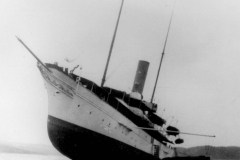 Gunilda_sinking_in_Lake_Superior_1911